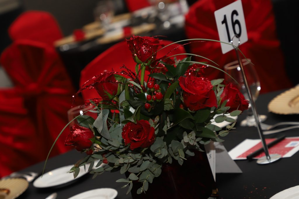 Beautiful centerpiece (Photo by Barfield Photography)