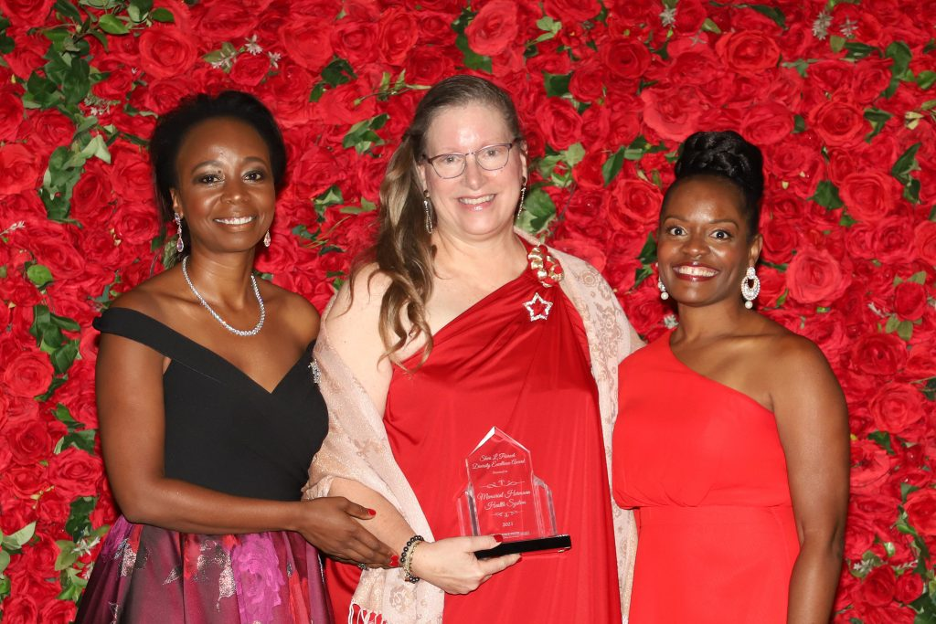 Sheri L. Parrack Diversity Excellence Award presented to Memorial Hermann Health Systems (Photo by Barfield Photography)